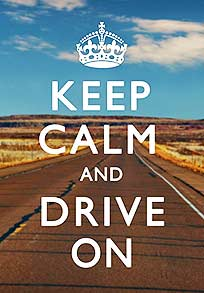 Keep calm and save gas
